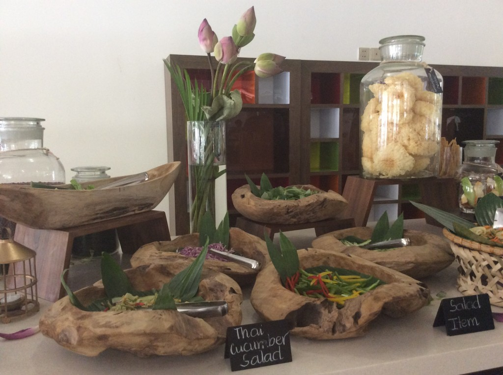 Salad Station Style