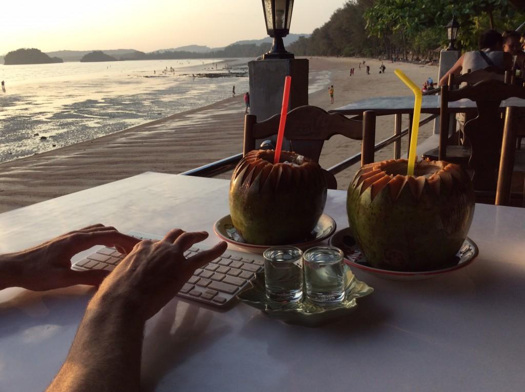 beach at Ao Nang
