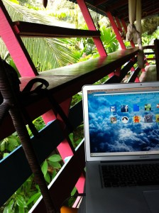 A Workspace In The Treetops…