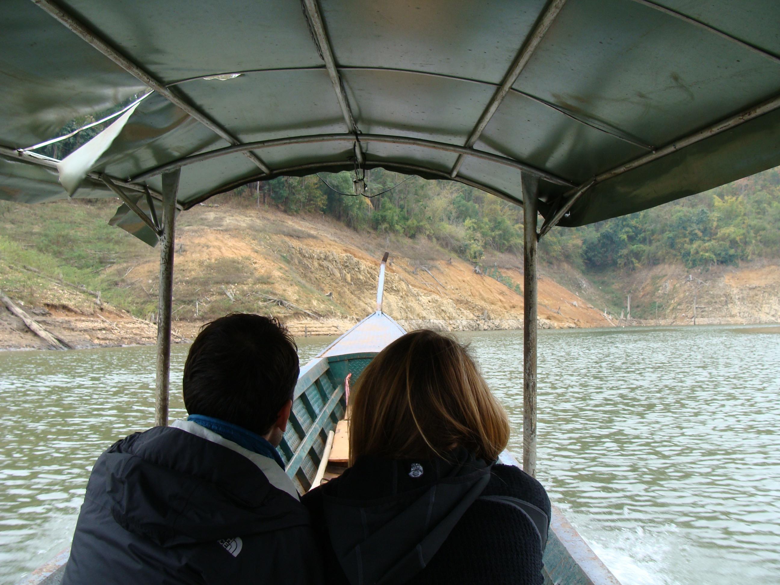 Longboat ride Chiang Mai