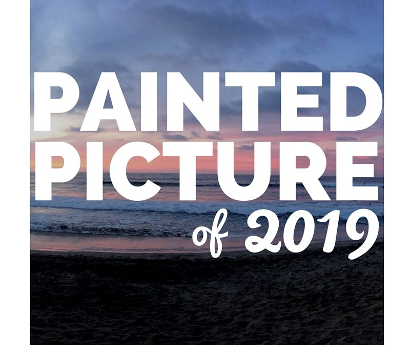 Painted Picture Of 2019