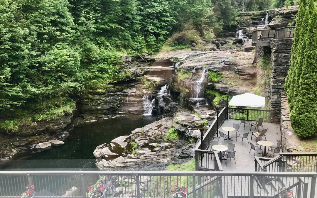 Relish Relaxing Waterfalls & Country Charm In The Poconos