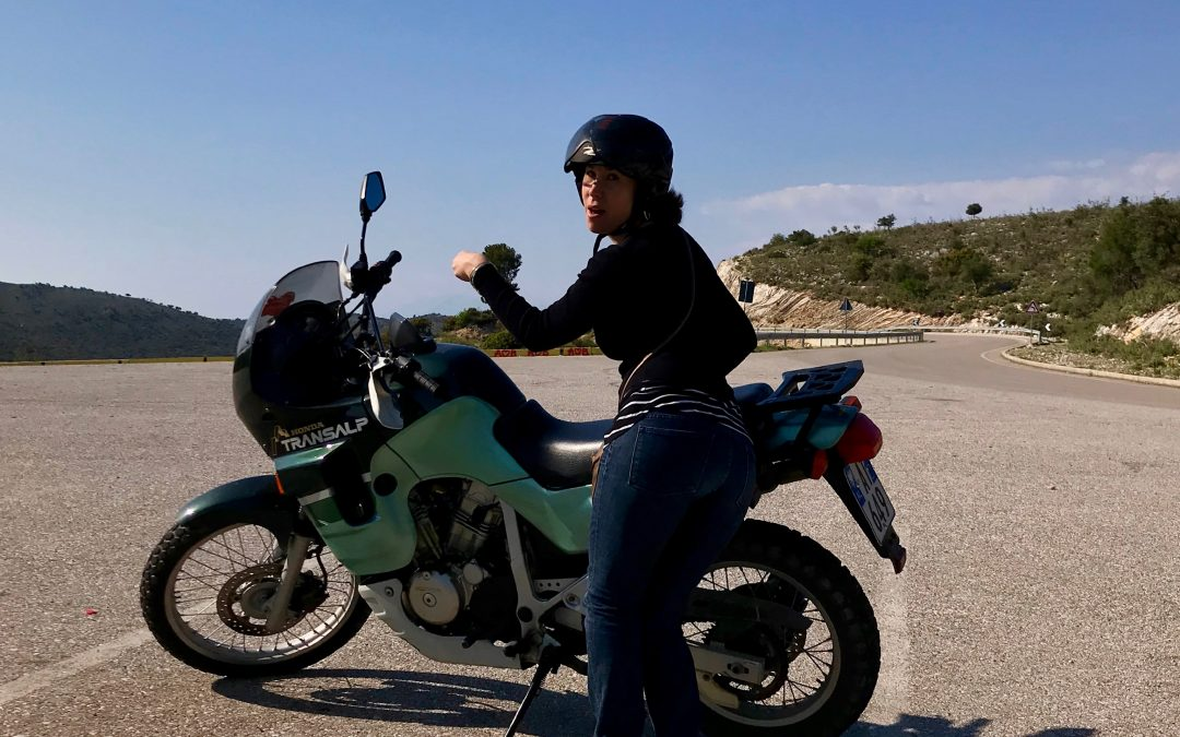 Motorcycling And Piloting A Flying Camera For A Gorgeous Birthday In Butrint