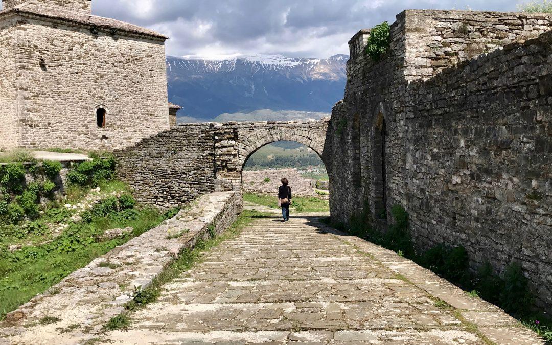 Triumphs Atop Gjirokastër Castle In Albania